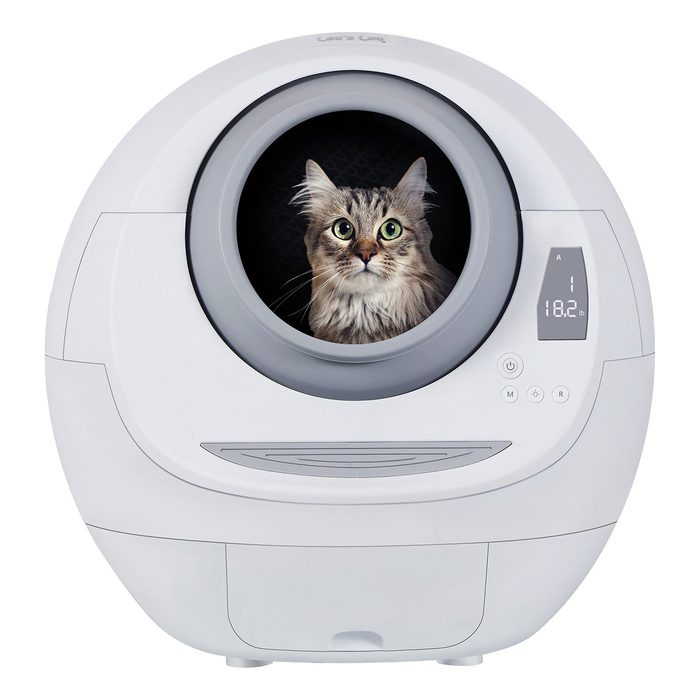 Smarty Pear Leo's Loo Self Cleaning Litter Box