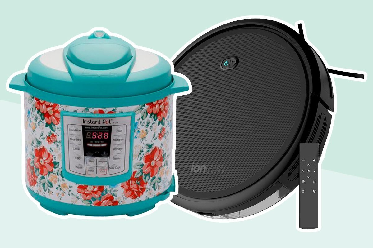 instant pot and robot vacuum from walmart