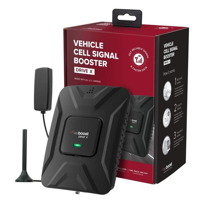 Weboost Drive X Vehicle Cell Signal Booster