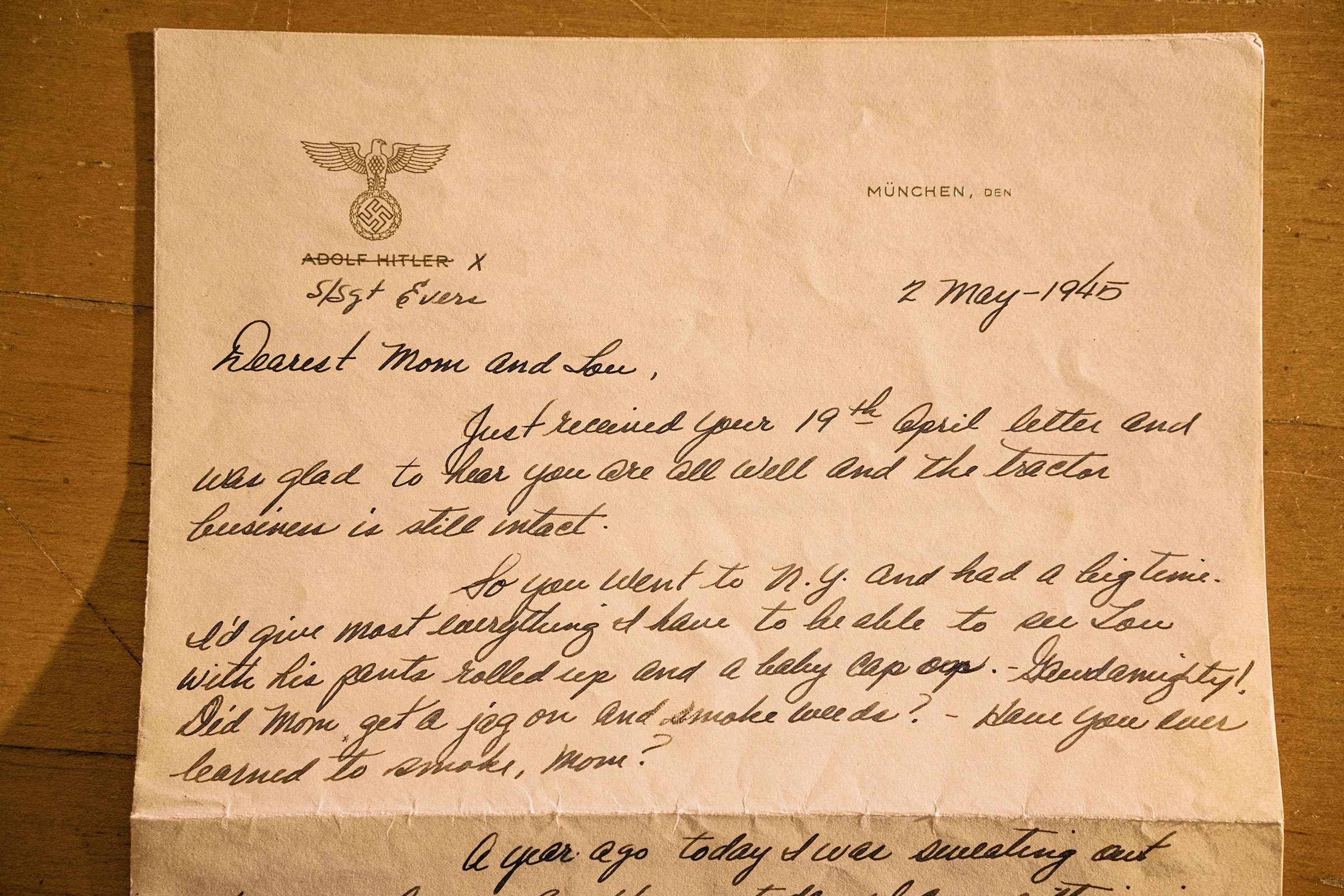 wwii letter