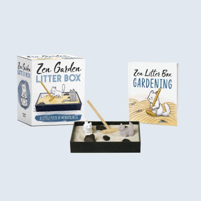 Zen kitty litter box