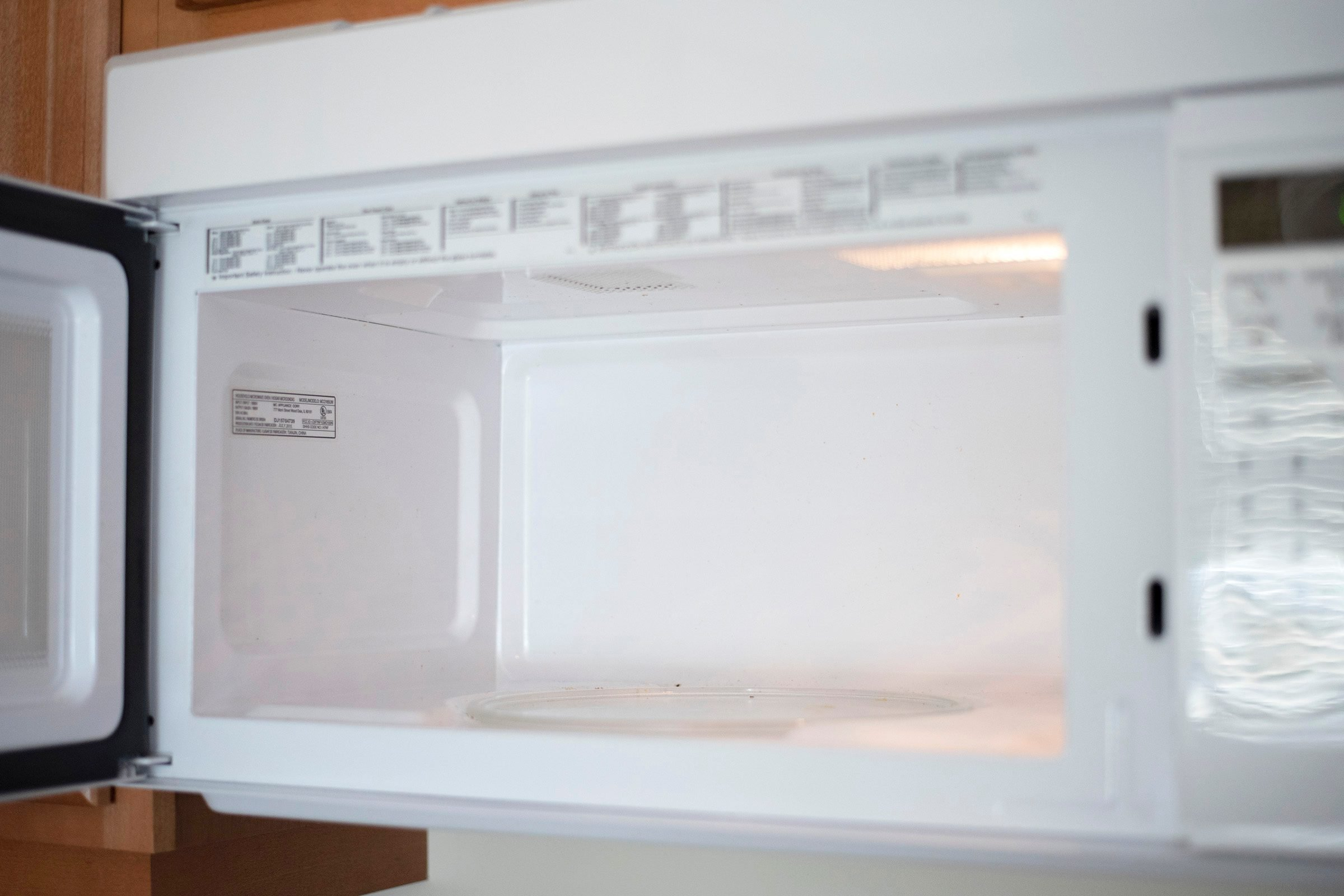 empty microwave