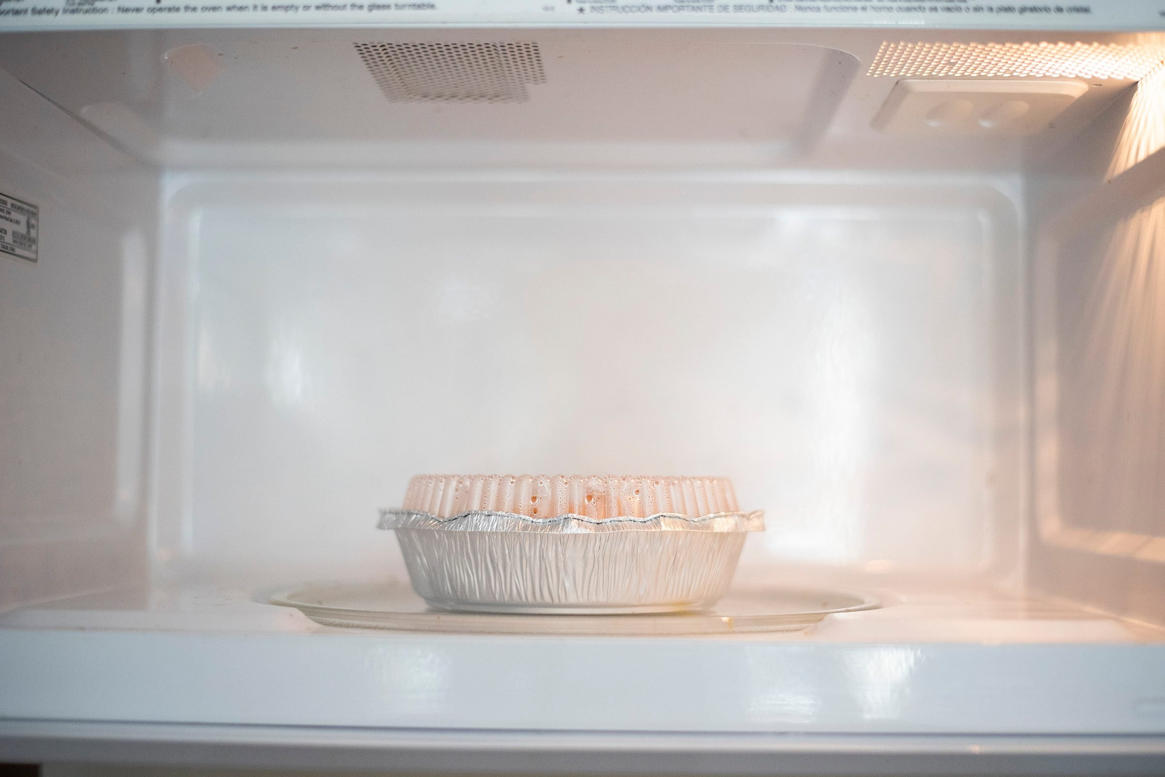 not microwave safe