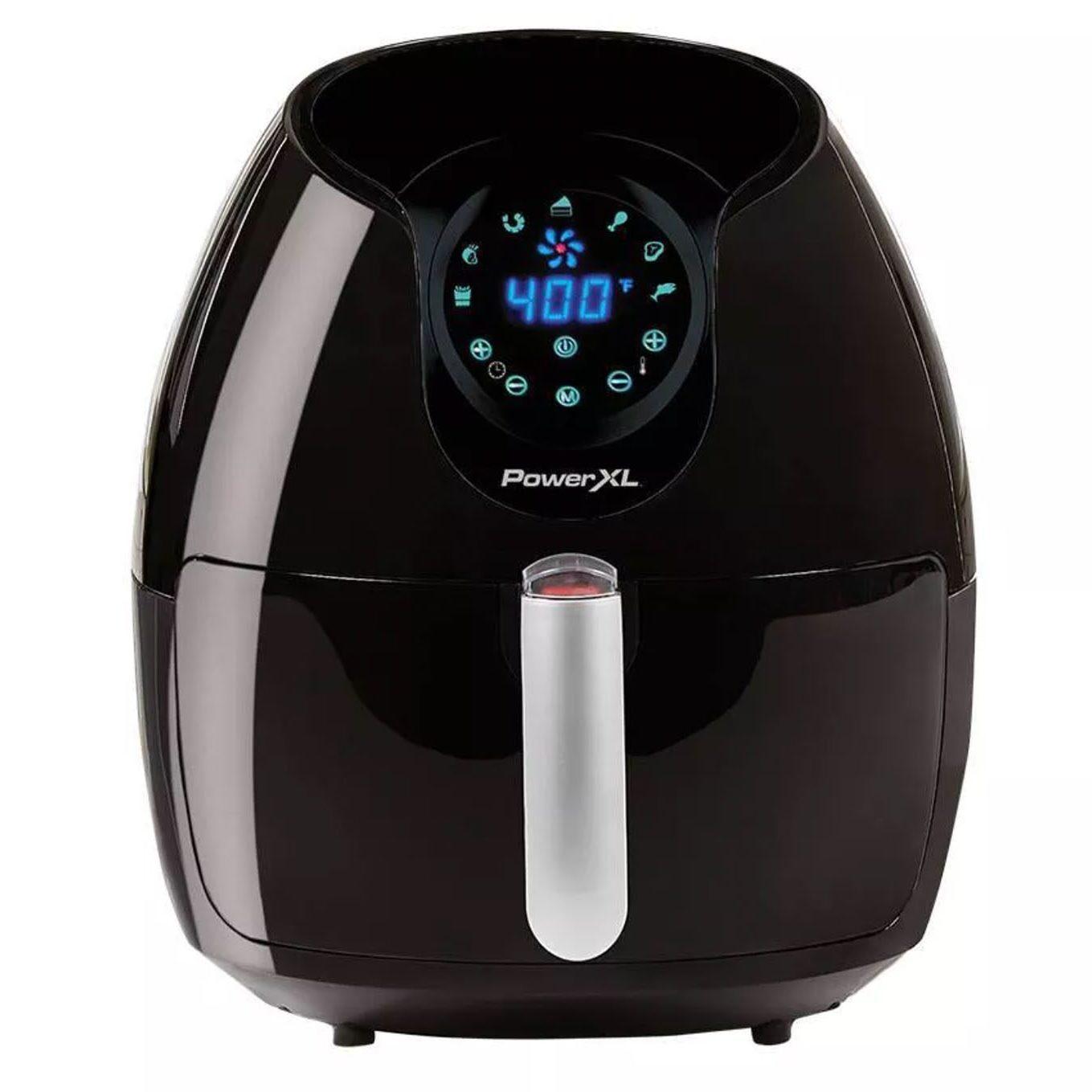 PowerXL 5qt Single Basket Air Fryer - Black