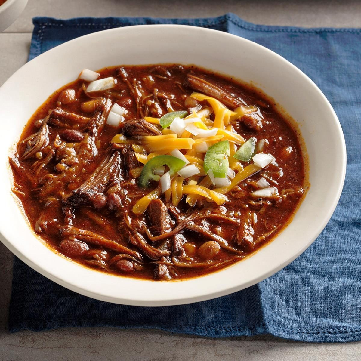 Barbecued Beef Chili