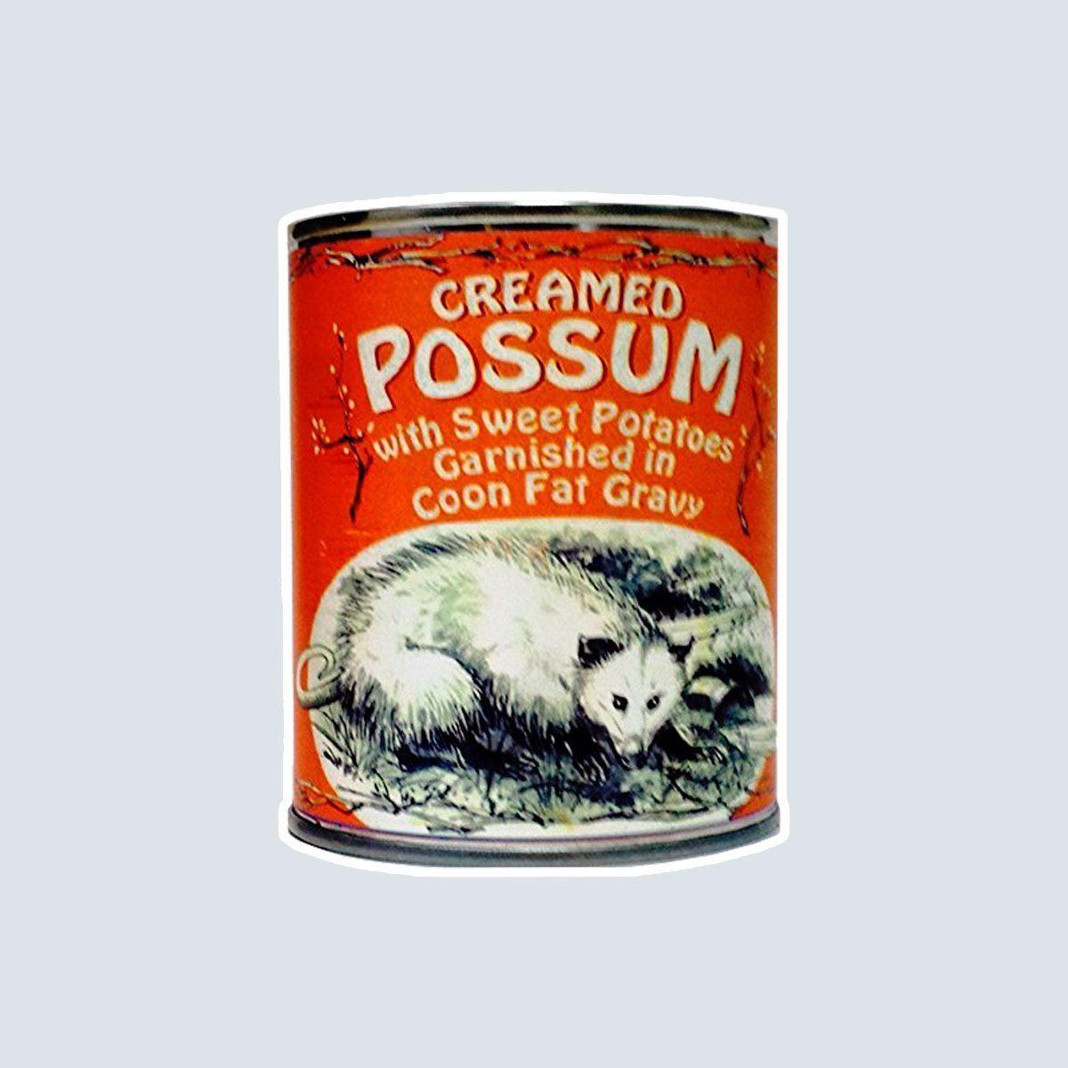 Creamed Possum