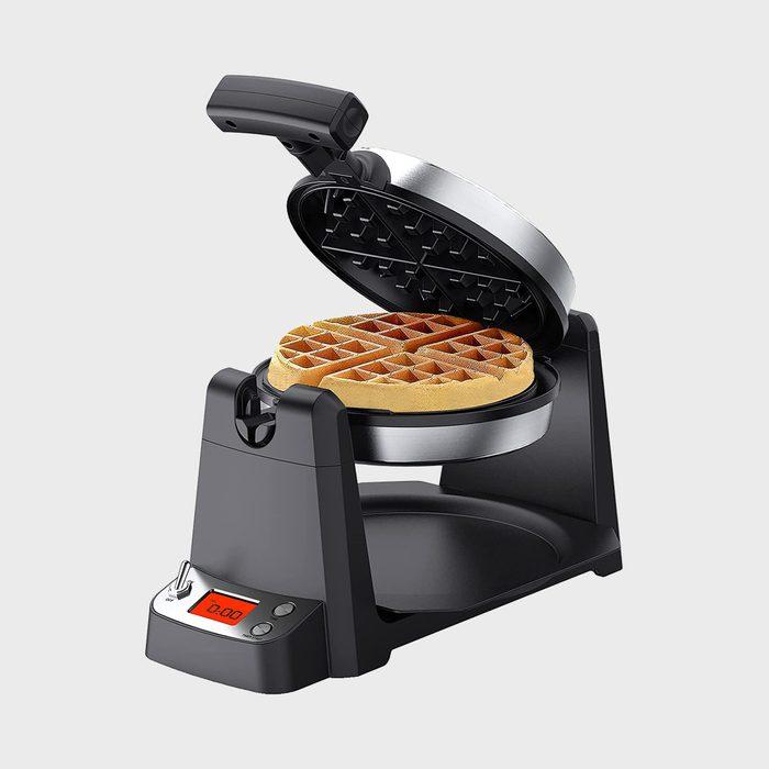 Elechomes Flip Belgian Waffle Maker