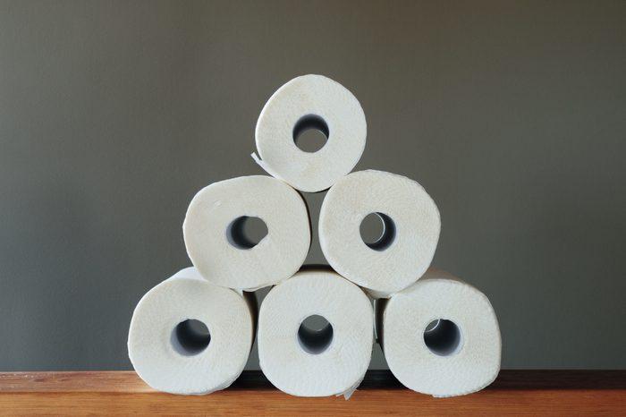 Paper Towel Pyramid