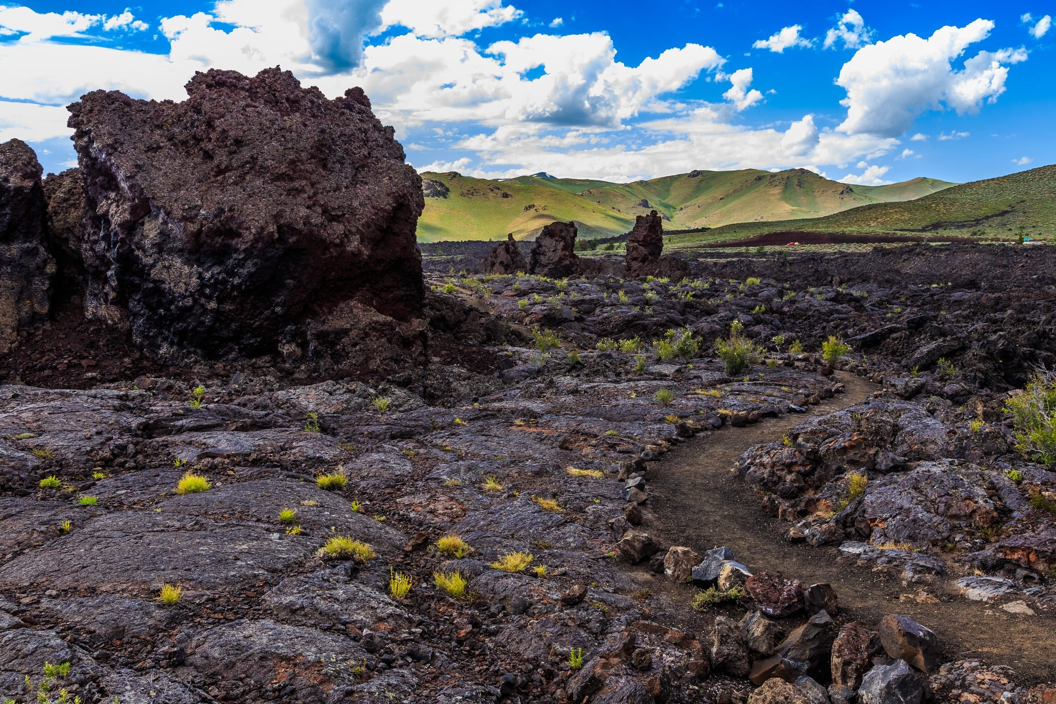 North Crater Flows, Craters of the Moon National Monument