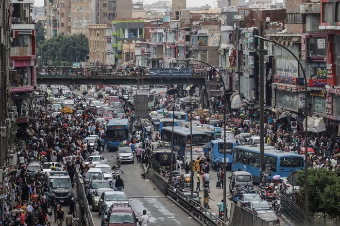 Daily life in Cairo