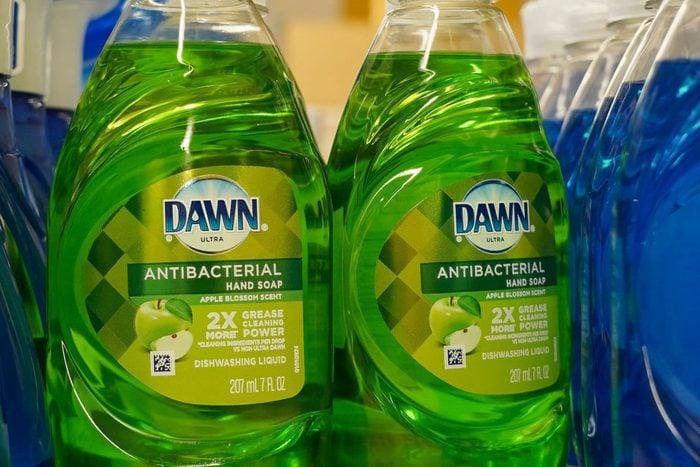 View of Dawn dish soap liquid at Stop & Shop Supermarket.