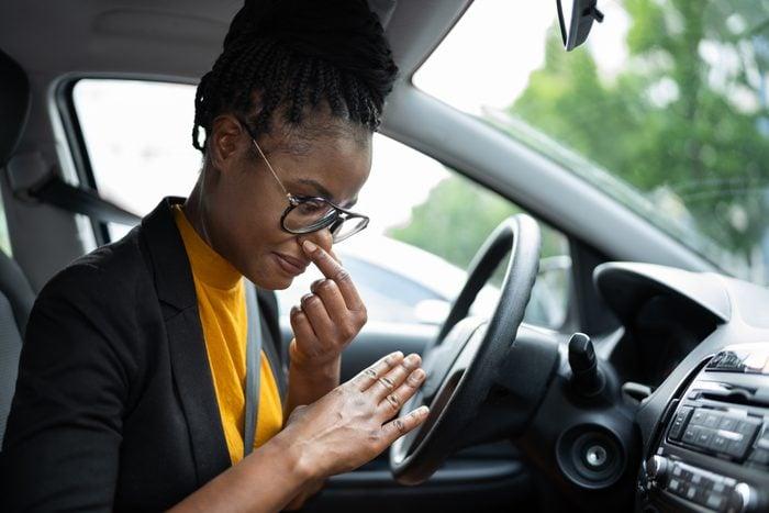 Car Air Conditioner Odor