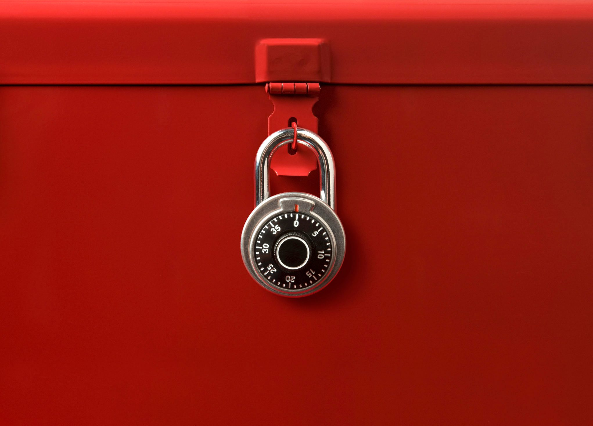 Toolbox and Lock