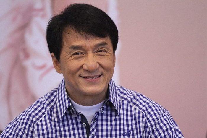 Jackie Chan Presents His Autobiography In Beijing