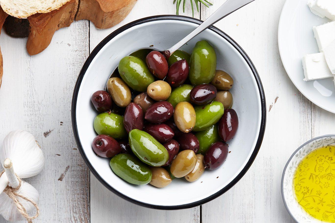 Greek cuisine ingredients