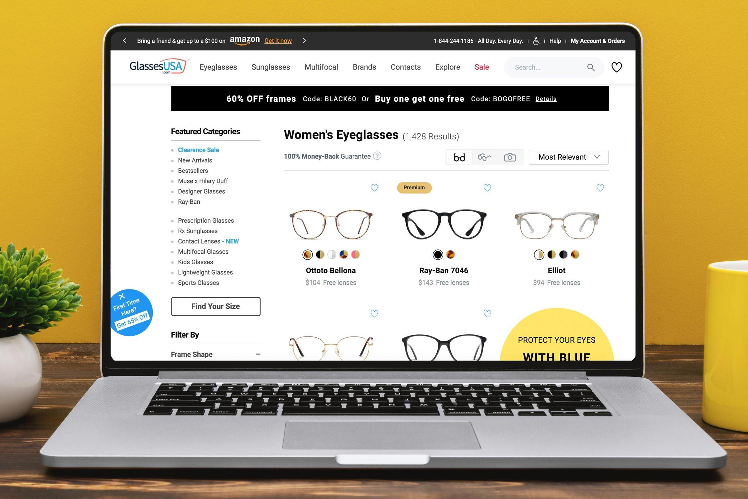 Glasses USA