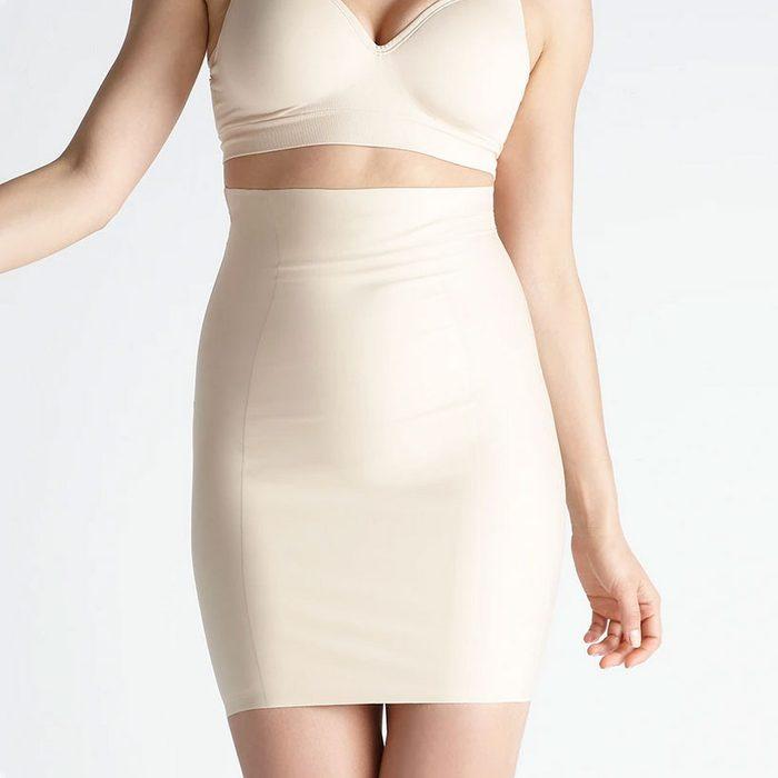 Hidden Curves Firm Shaping High Waist Skirt Slip