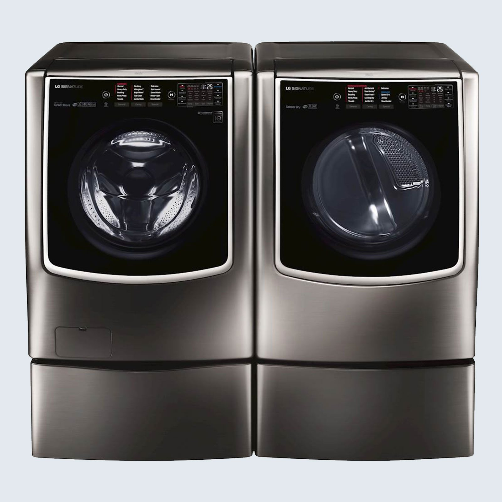 LG Signature Front Load Smart Wi-Fi Washer and Gas Dryer