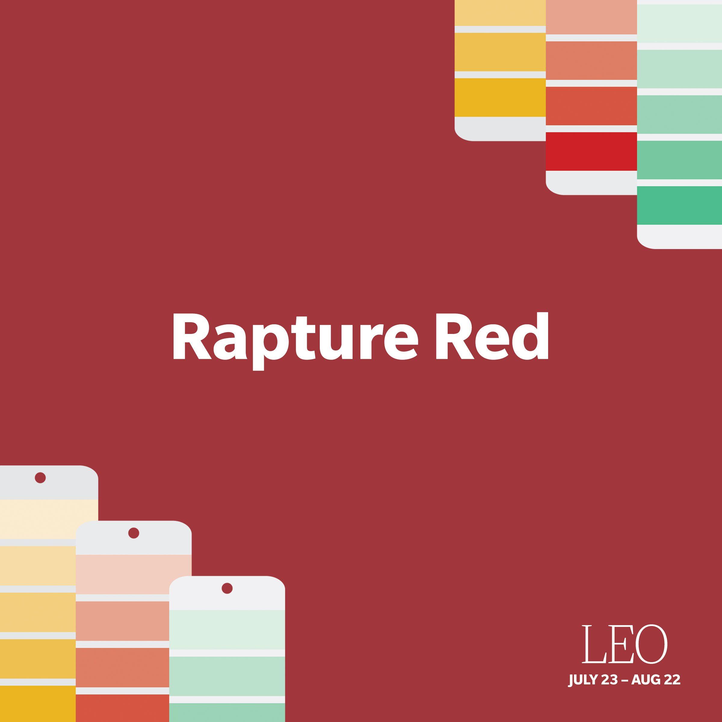 Leo: Rapture Red