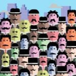 Can You Find the One Man Without a Mustache?
