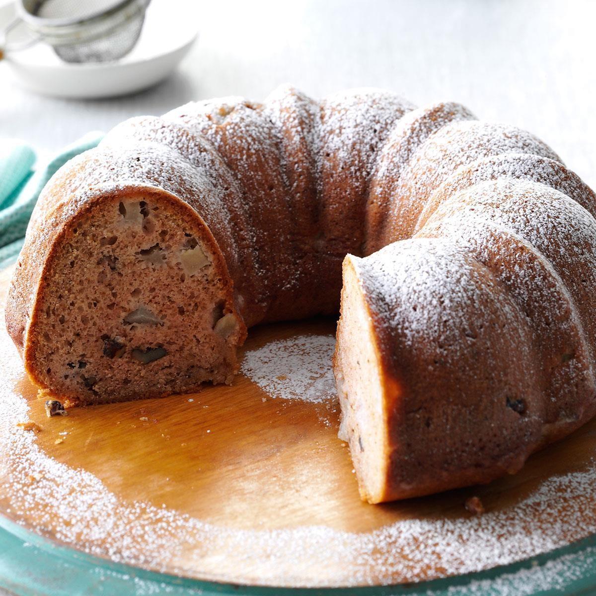 Old-Fashioned Pear Cake