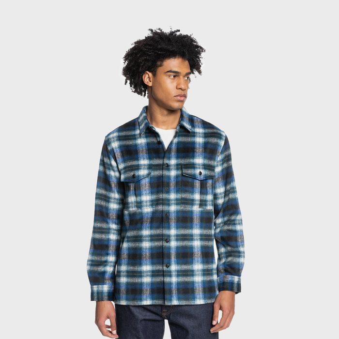 Quiksilver Fierce Volcano Flannel Shirt