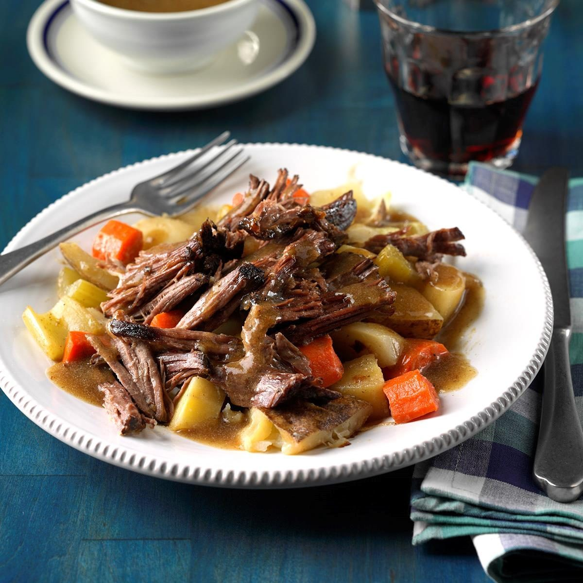 Root Vegetable Pot Roast
