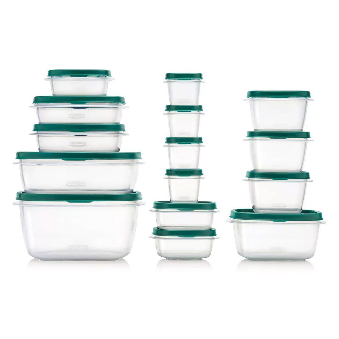 Rubbermaid Storage Container Set