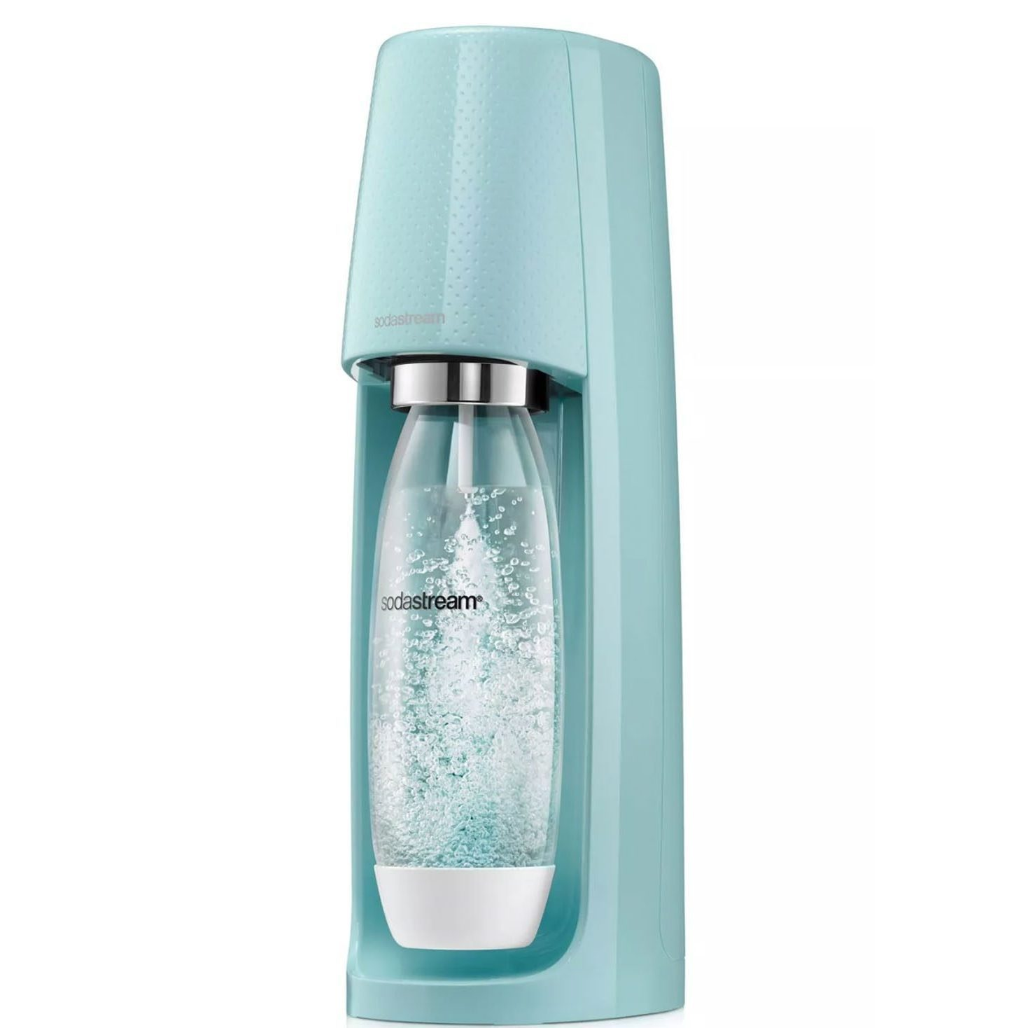 SodaStream Fizzi Soda Maker with CO2 Carbonator and 2 Extra Bottles
