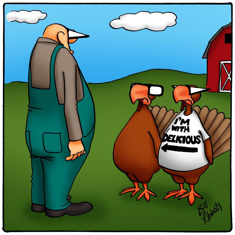 don't take me thanksgiving cartoon