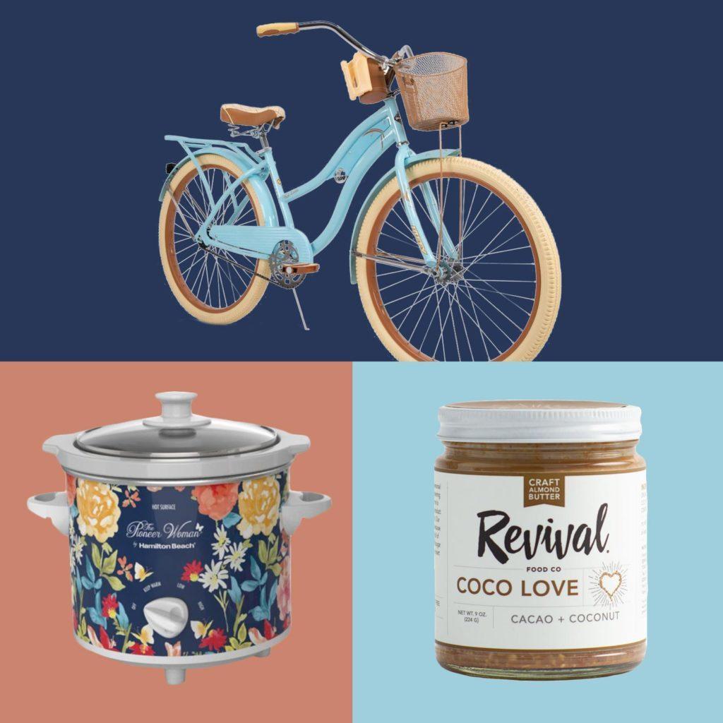 Bike, nut butter, instant pot