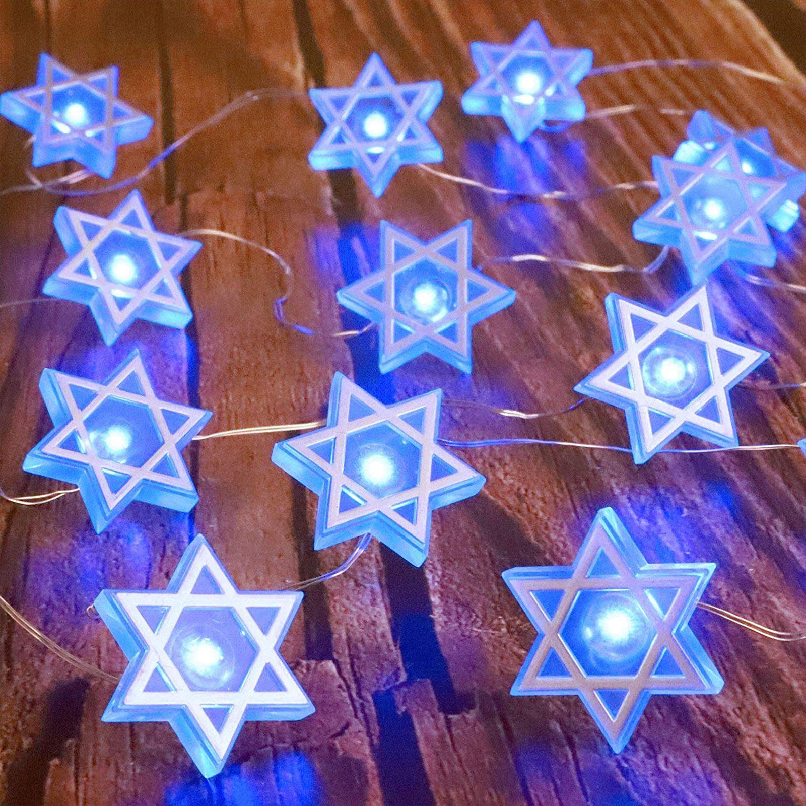 Star of David String Lights