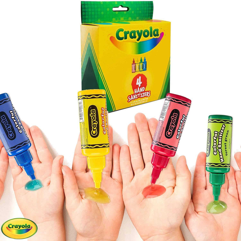 Crayola Hand Sanitizer, set of 4