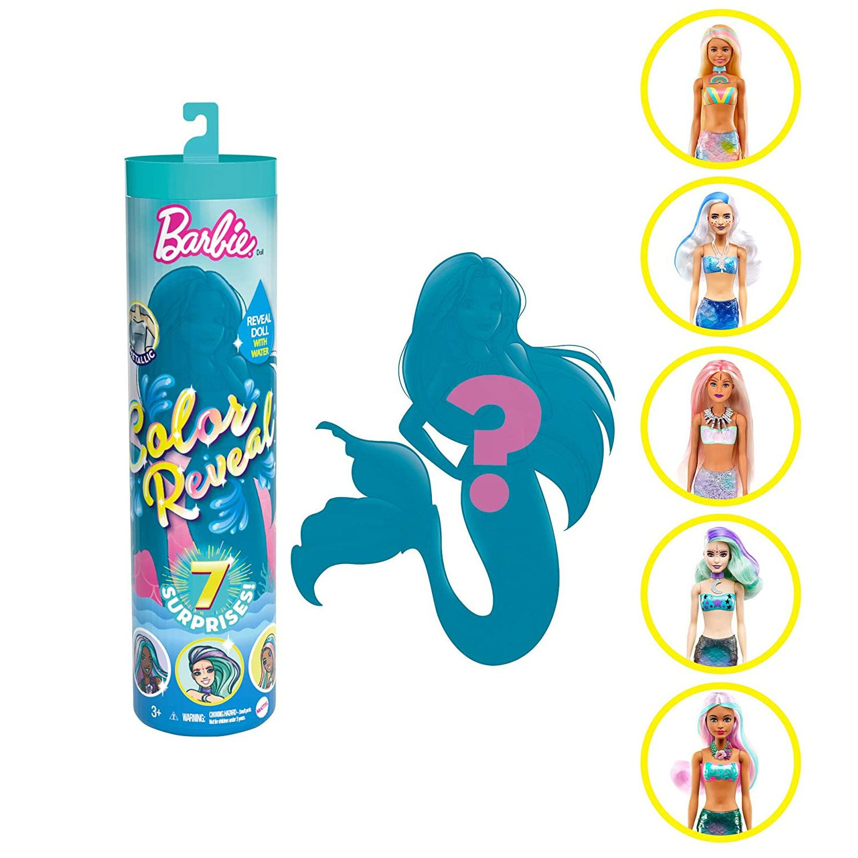 Barbie Color Reveal: Color Reveal Mermaids