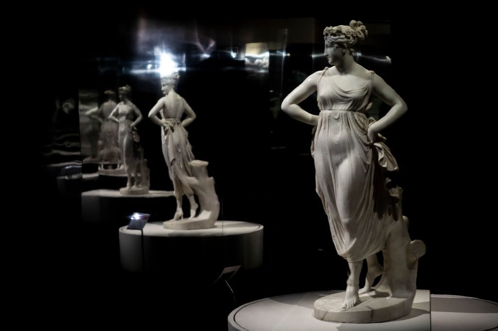 "Antonio Canova Exhibition ""Eternal Beauty"" Portrays Sculptor's Love Of Rome"