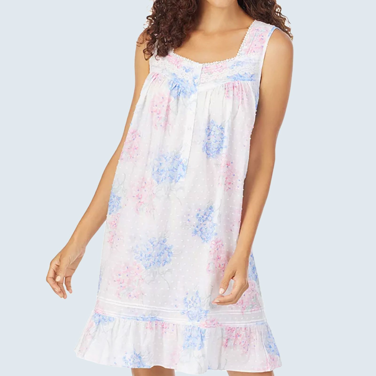 Eileen West Swiss Dot Chemise Nightgown