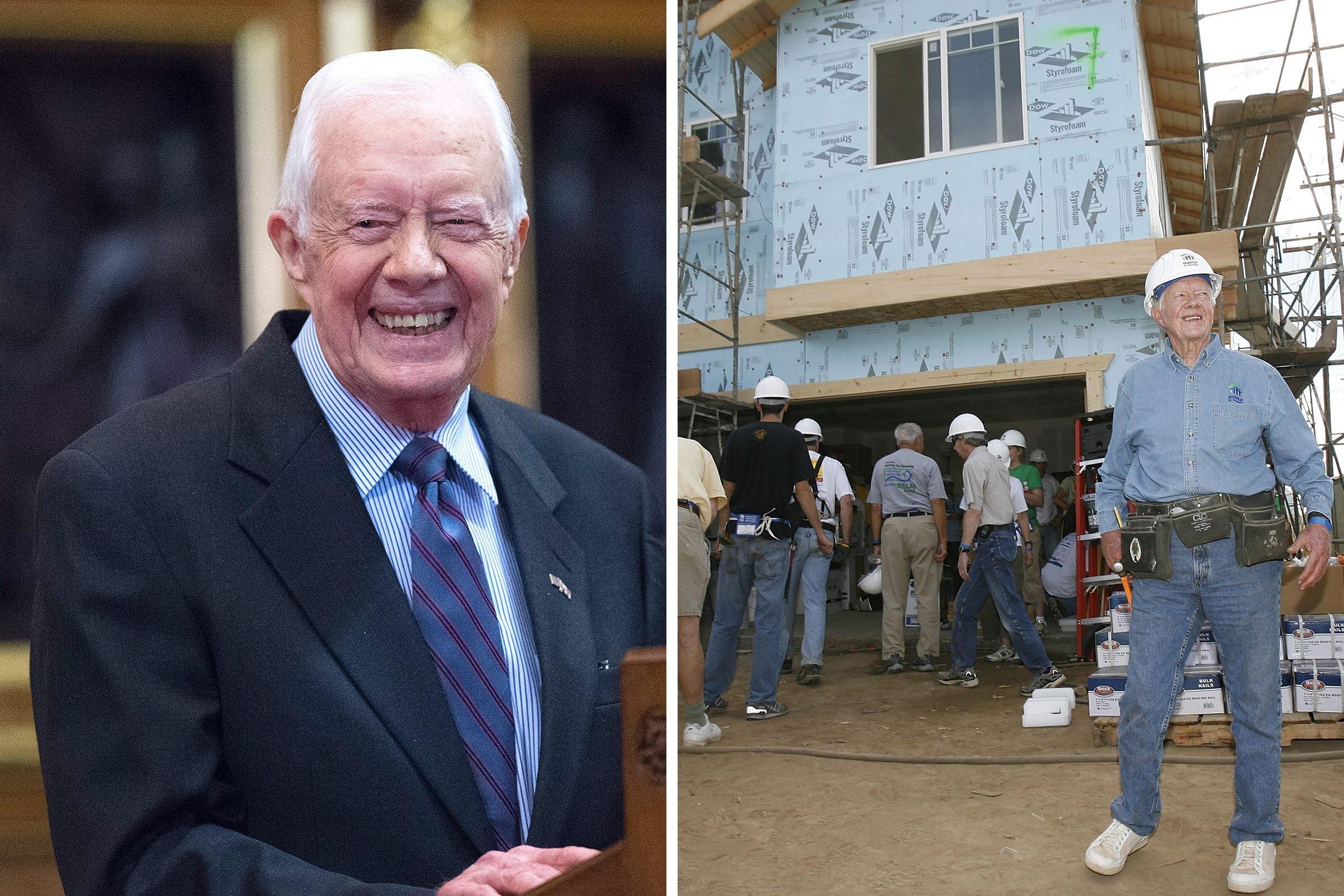 Jimmy Carter: Humanitarian
