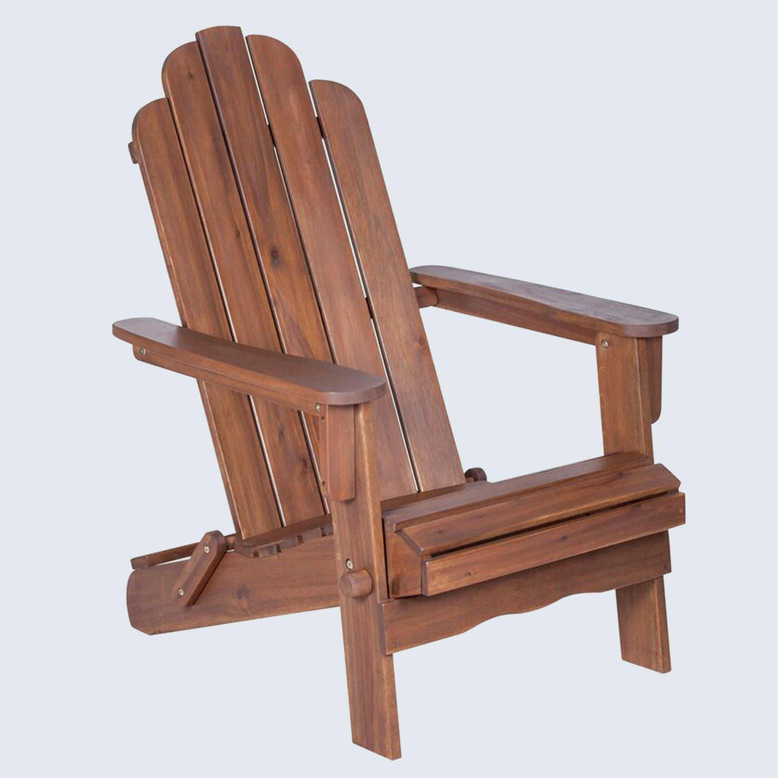 Imane Solid Wood Folding Adirondack Chairs