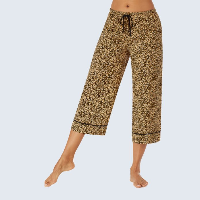 Room Service Wide Leg Crop Lounge Pants
