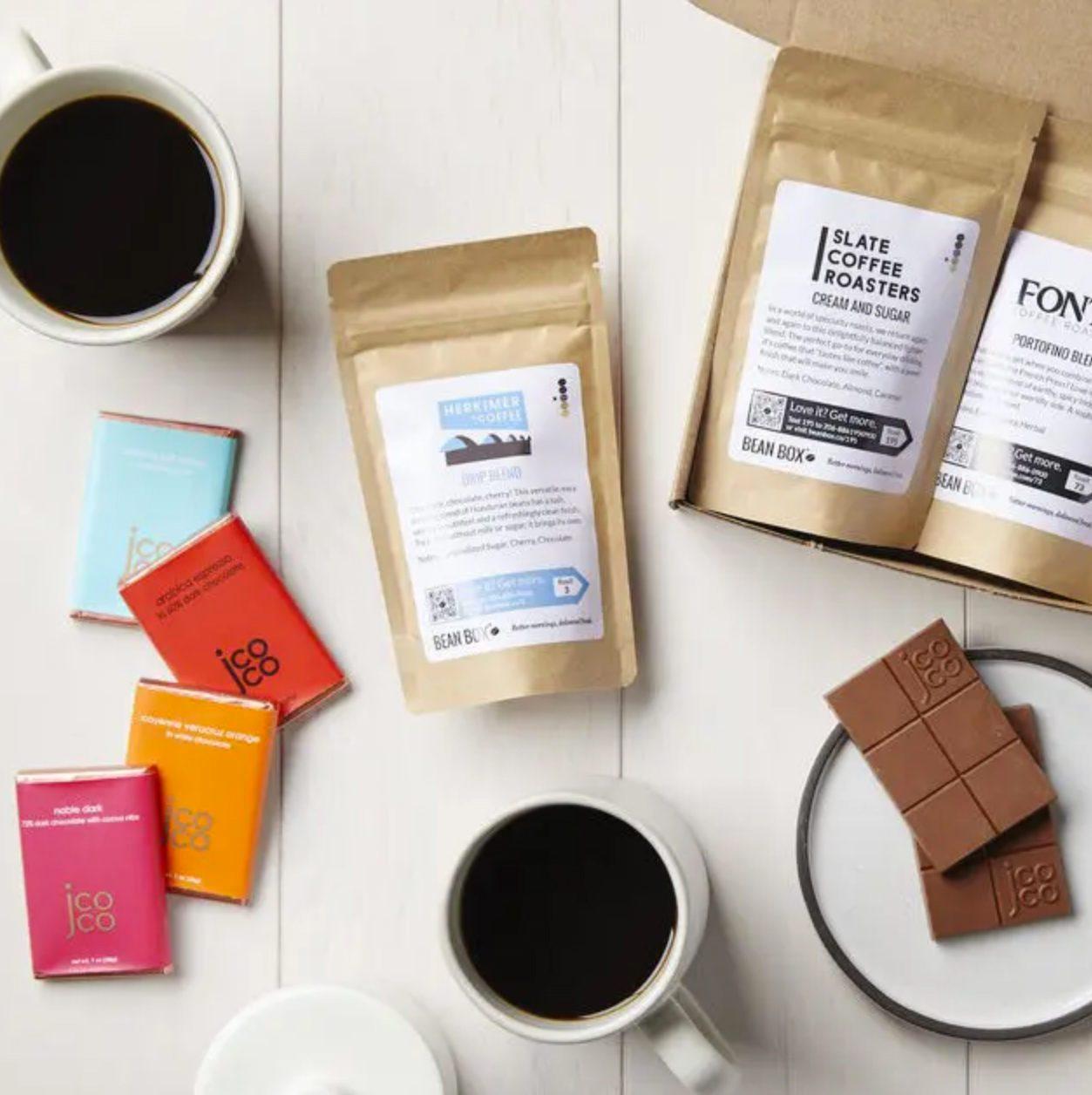 Bean Box Coffee and Chocolate Tasting Box