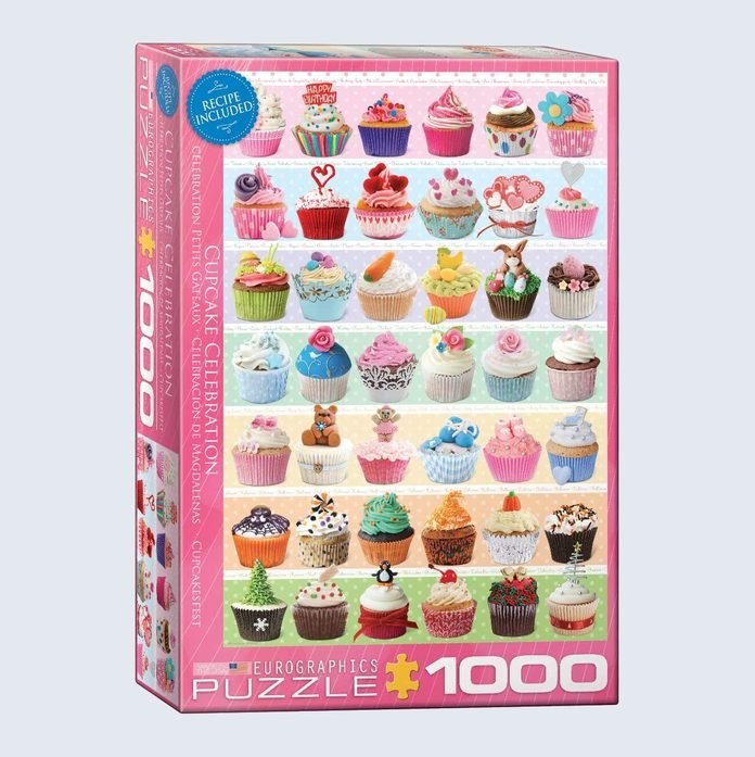 Eurographics Cupcake Celebration Jigsaw Puzzle
