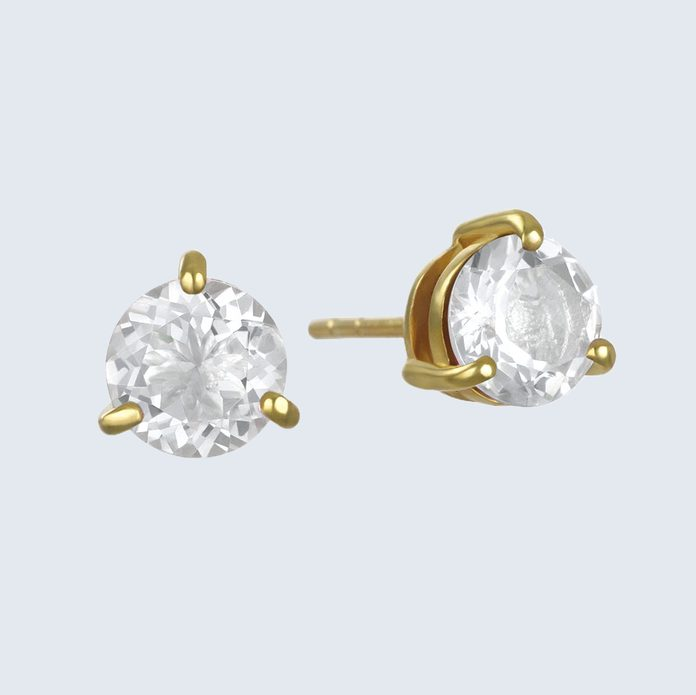 Amelia Rose Birthstone Earrings