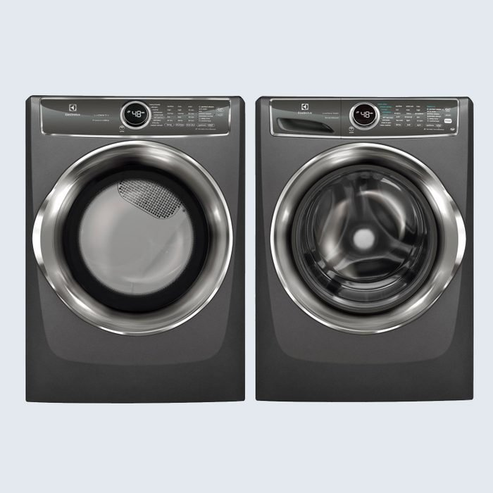 Electrolux Front Load Washer with SmartBoost Technology and Electric Dryer