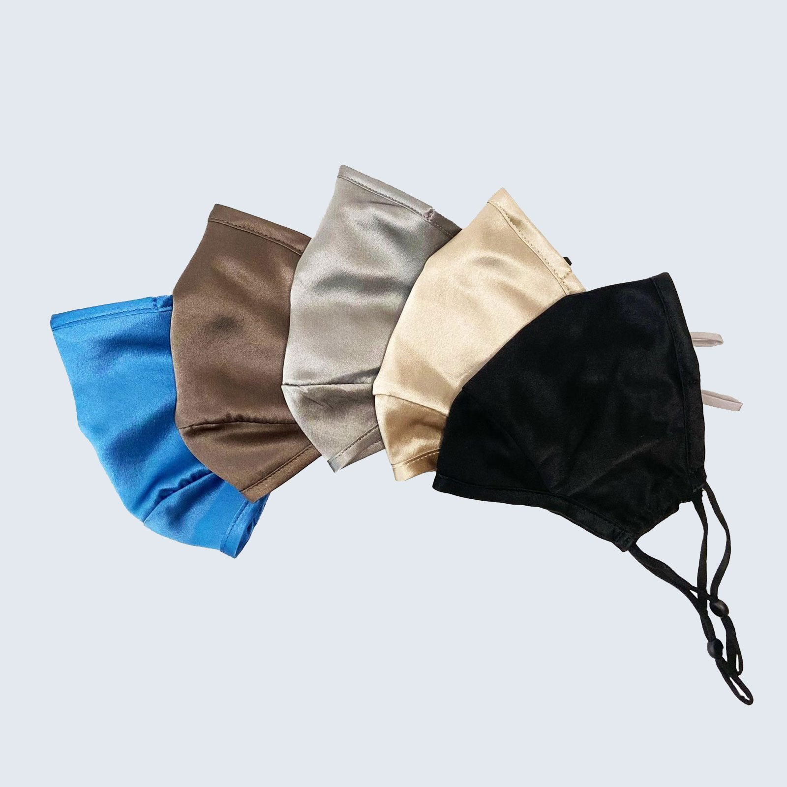 SoftStrokesSilk Triple Layer Silk Face Mask with Insert Pocket