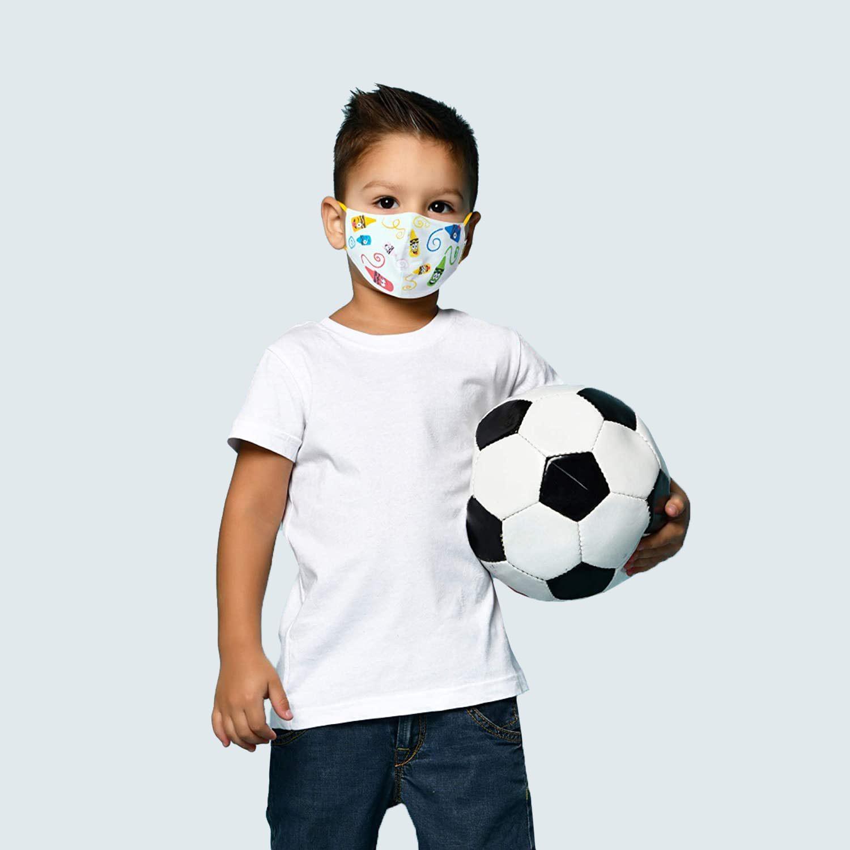 School MaskPack Crayola Kids Face Mask, set of 5