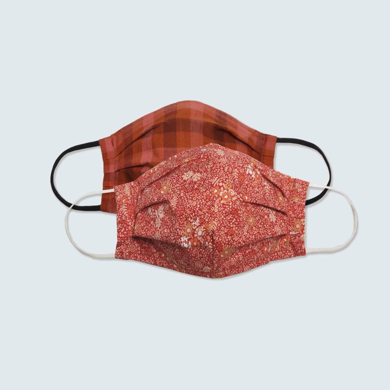 Universal Thread Women's Fabric Face Masks, 2 pack