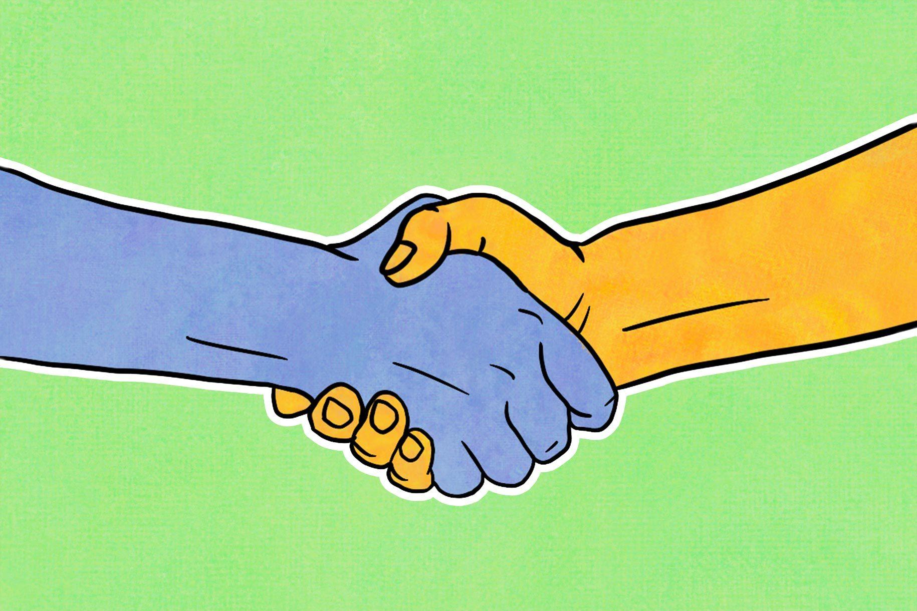 Handshake origin