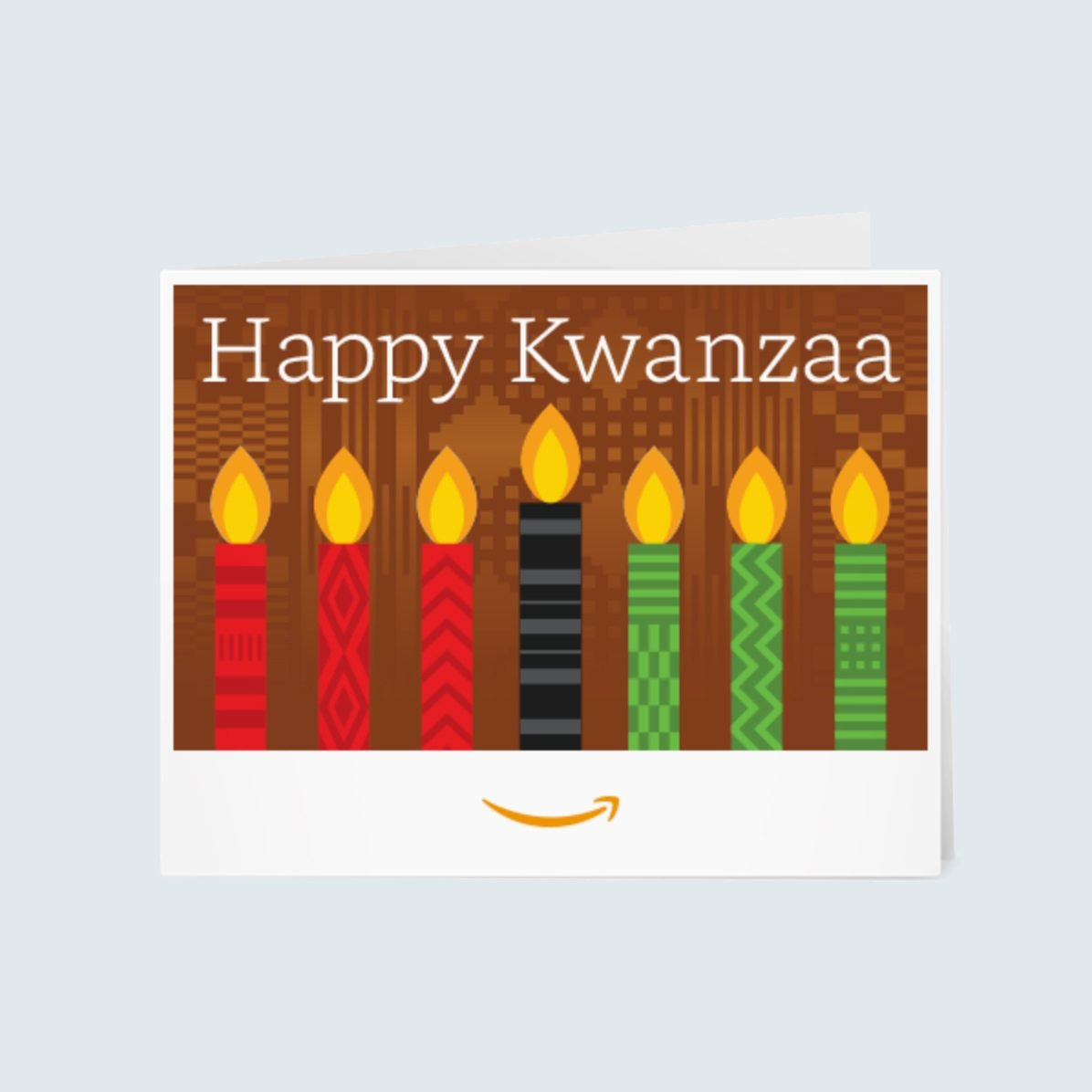 Happy Kwanzaa Amazon Gift Card