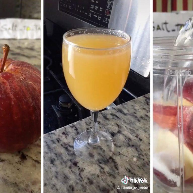 How to make homemade apple cider from TikTok