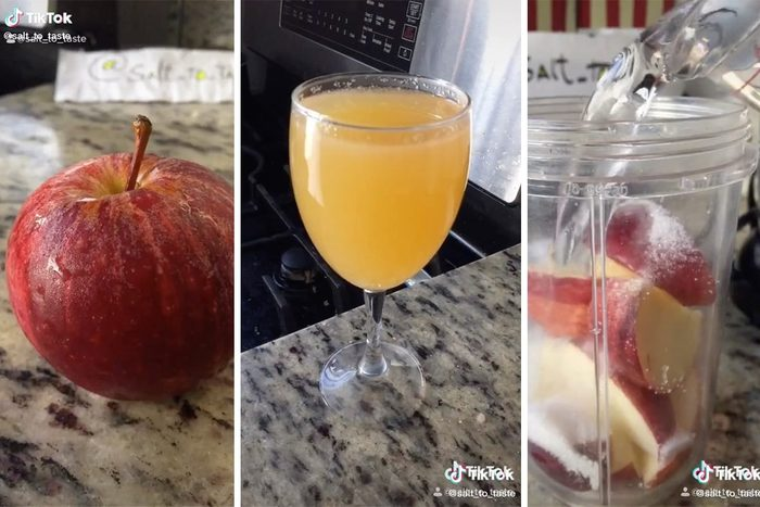 How to make homemade apple cider from TikTok